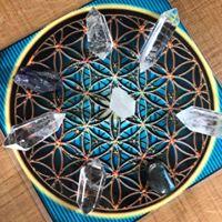 Reiki Share centre piece for meditation