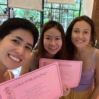 Reiki certificate ceremony